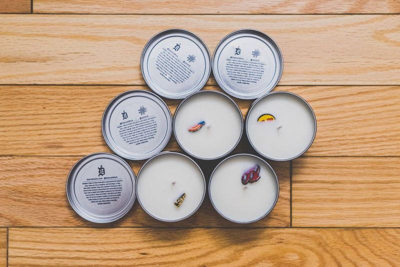 Concealed Brooch Candles