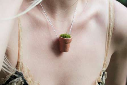 Wearable Planters by Laurie Poast