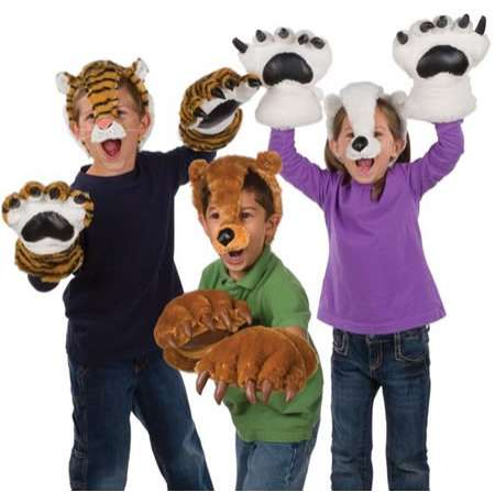Growling Critter Costumes