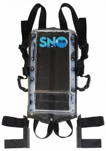 Wearable Snow Sleds