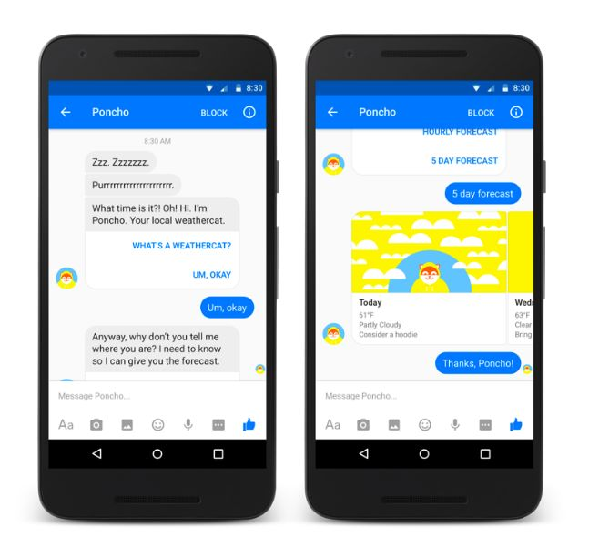Weather Chat Bots