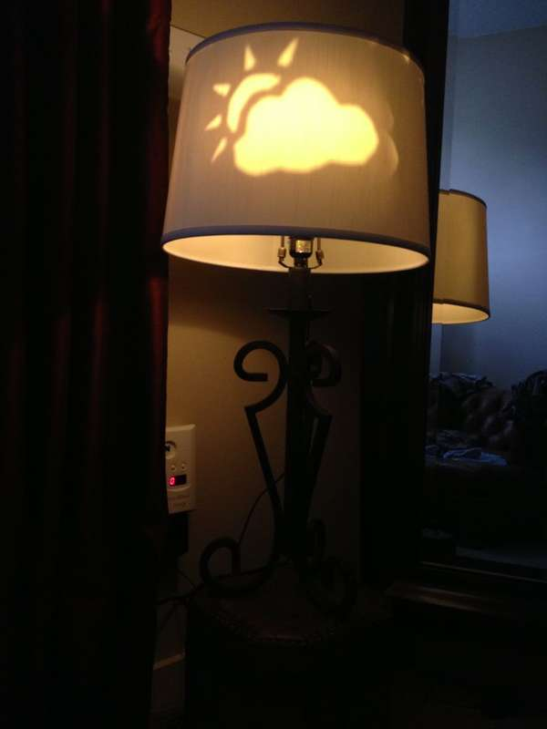 DIY Weather-Displaying Lamps