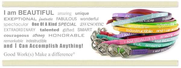 Rainbow Relief Wrist Bands