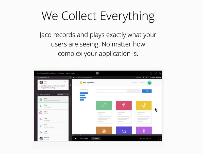 User Experience-Recording Services