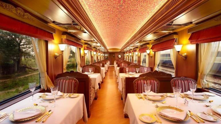 Mobile Train Wedding Celebrations