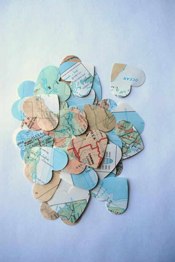 Romantic Topography Confetti