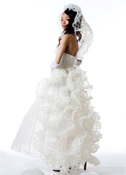 Blow-Up Wedding Gowns