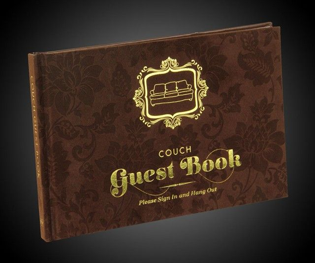 Comical Couch Guestbooks