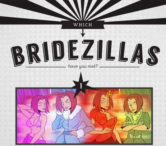 Hilarious Bride Superhero Infographics