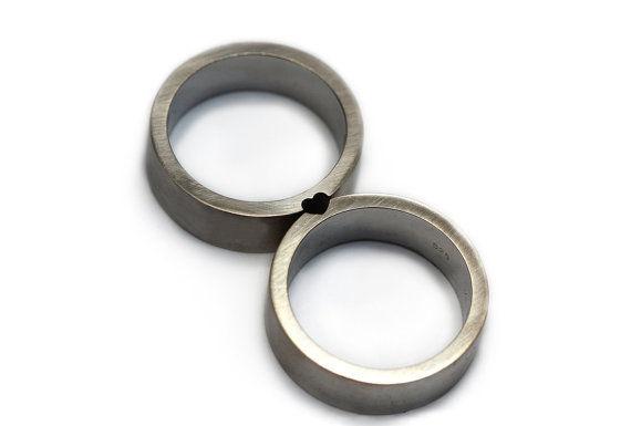 Subtle Sweetheart Rings