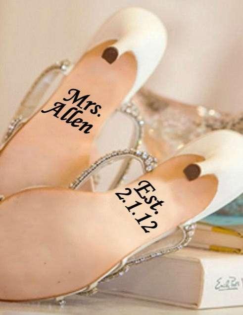 Matrimonial Sole Embellishments
