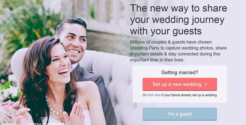 Social Wedding Websites
