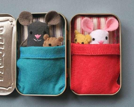Diy Mouse Toys Diy Travel Toys