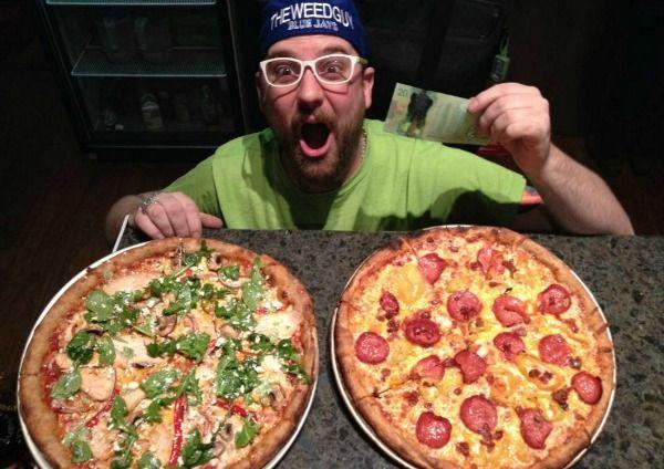 Marijuana-Infused Pizzas