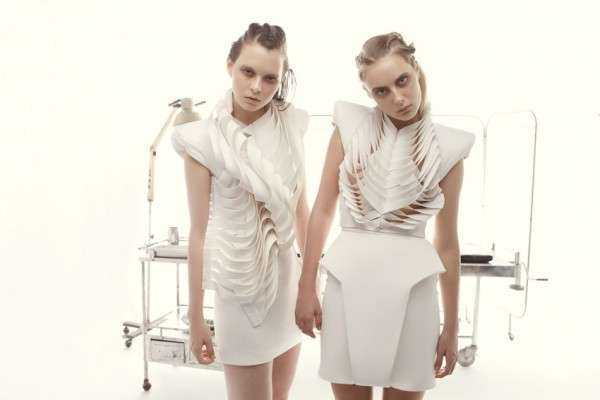 Avant-Garde Skeletal Garments