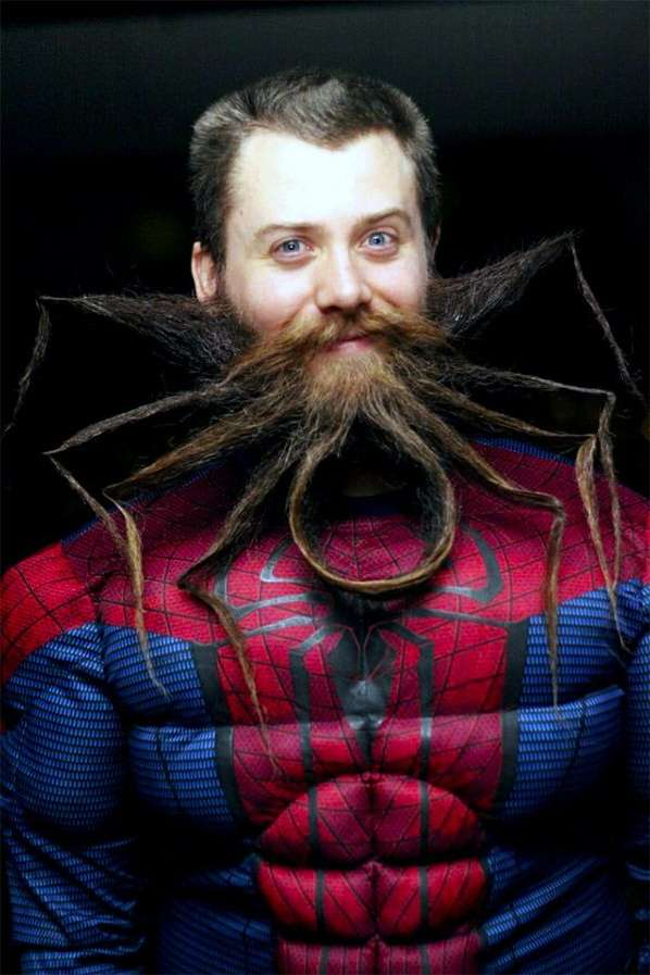 Superhero Mimicked Beards