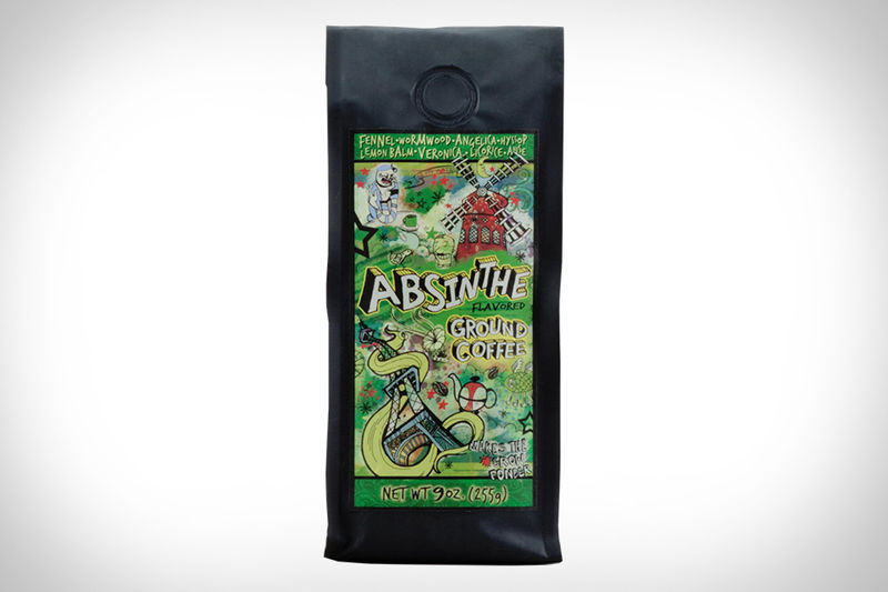 Absinthe-Flavored Coffees
