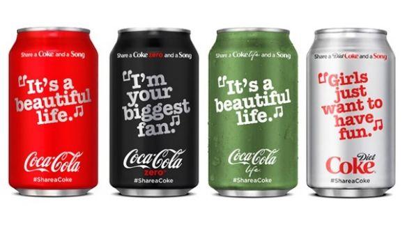 Lyrical Soda Bottles