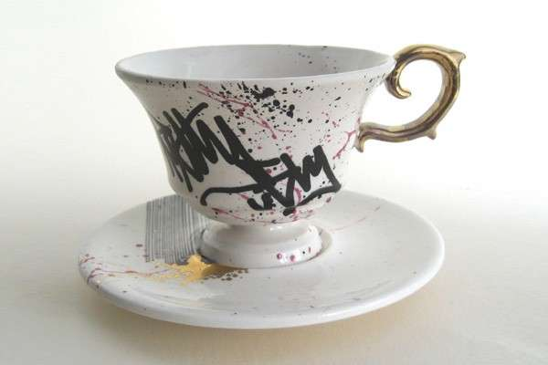 Bring Graffiti To High Tea Welovekaoru Graffitea Cups