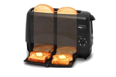 Downward-Dispensing Bread Browners