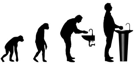 Evolutionary Washbasins