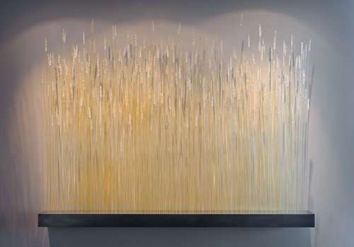 Wheat Glass Installation