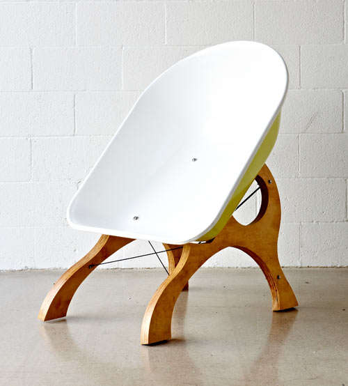 Handcart-Inspired Furniture