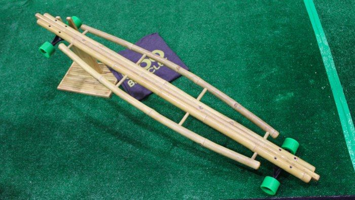 Wheeled Bamboo Paddleboards