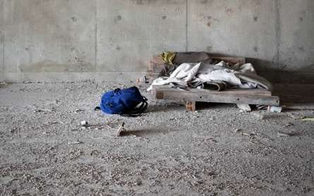 Where the Homeless Sleep