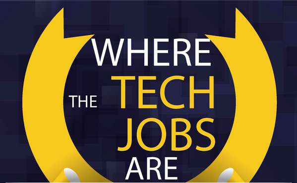 where the tech jobs are