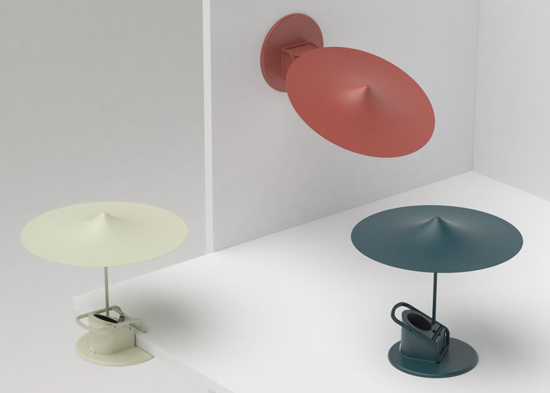 Whimsical Clamp Lamps