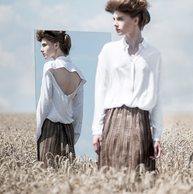 Mirrored Whimsical Fashion