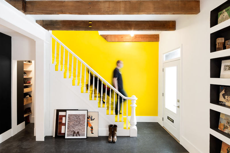 Colorful Row House Renovations
