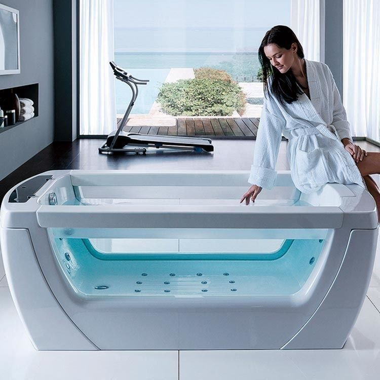 Transparent Whirlpool Tubs