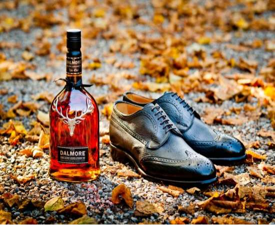 Whiskey-inspired shoes
