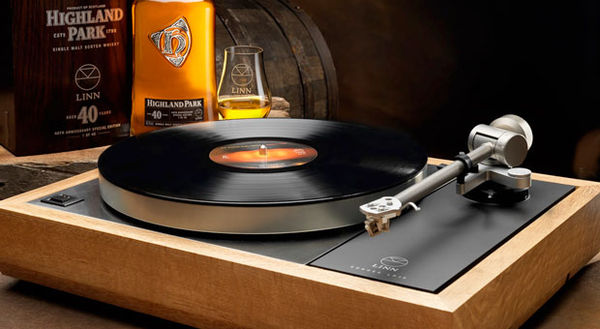 Whisky Bottle Turntables
