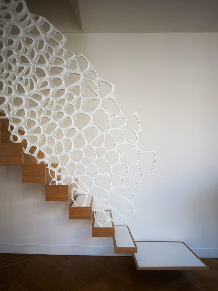 Sculptural Stair Railings