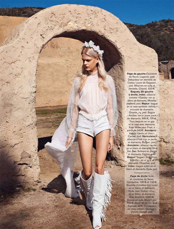 Bohemian Bride Editorials