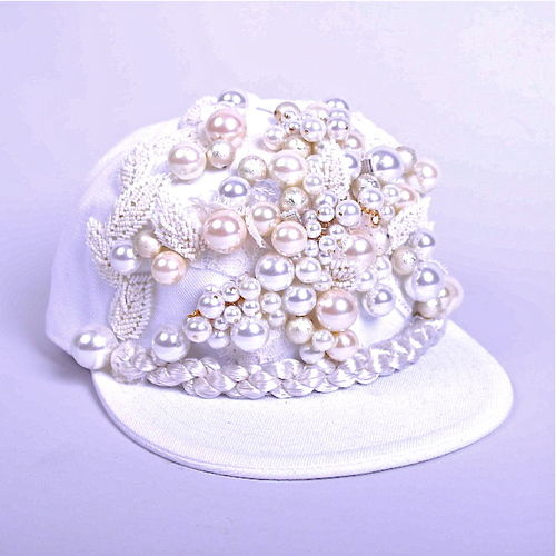 Magnified Pearl Hats