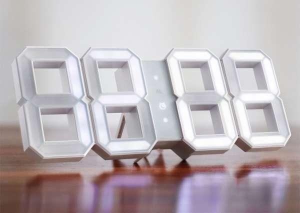 Minimalist Digital Time-Tellers