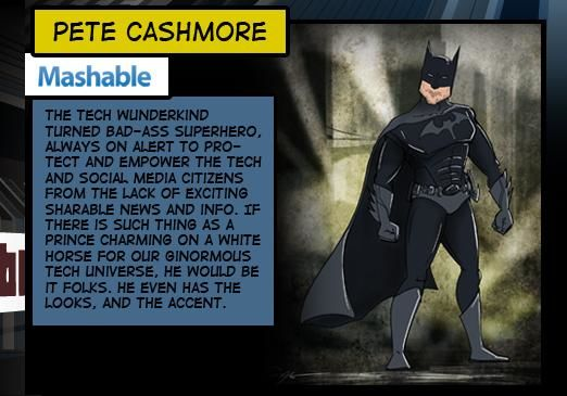 Comic Hero Blogger Comparisons