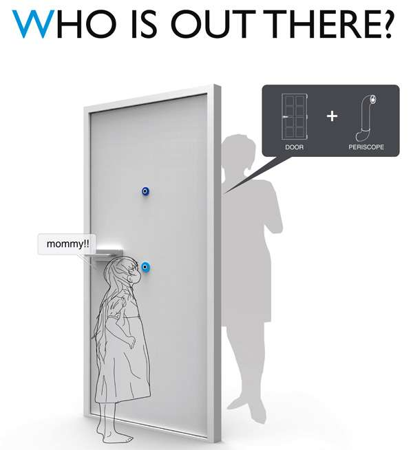 'Who Is Out There' Peephole