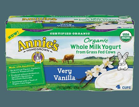 Organic Grass-Fed Yogurts