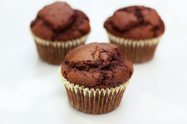 Gluten-Free Vegetable Muffins : Whole-Grain Chocolate