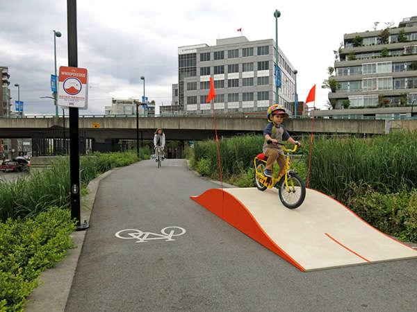 Playful Bike Ramp Projects
