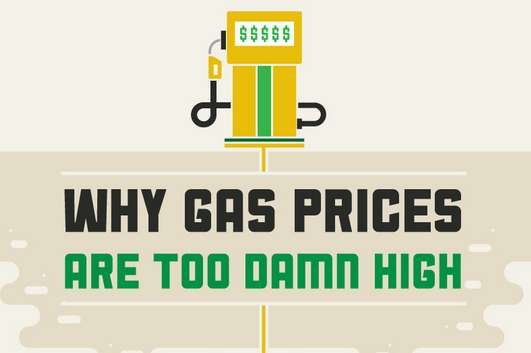 why gas prices are too damn high