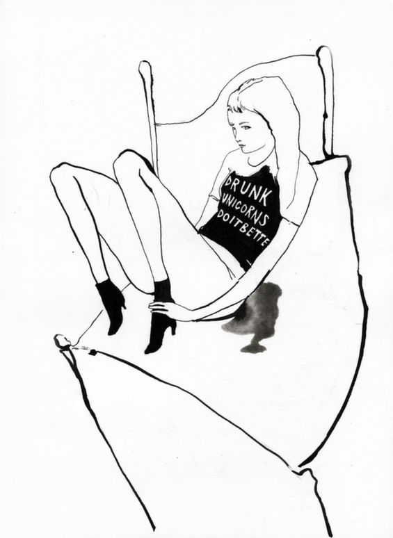 Wicked Graphic Tee Illustrations