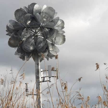 Wind-Powered Flowers