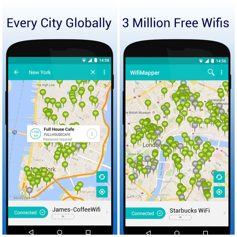 Internet Mapping Apps