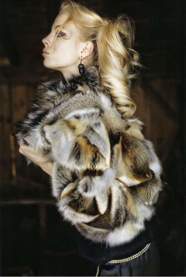 Fur-Flaunting Fashiontography